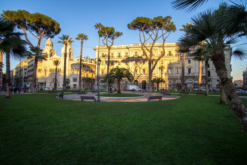 Download Chiesa Evangelica Di Valdese Alla Piazza Cavour A Roma Fotografia Stock - Immagine di torretta, piazza: 95588830