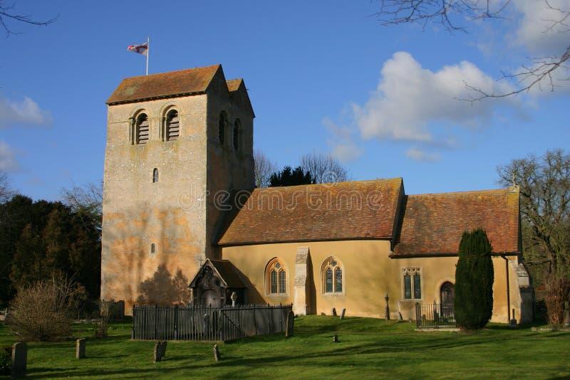 Chiesa Fingest della st Bartholomews immagine stock libera da diritti