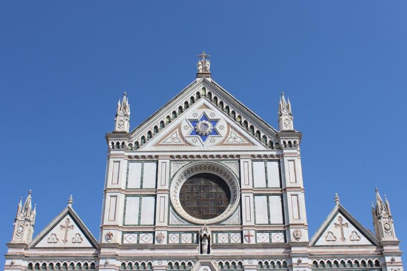 Chiesa a Firenze fotografia stock