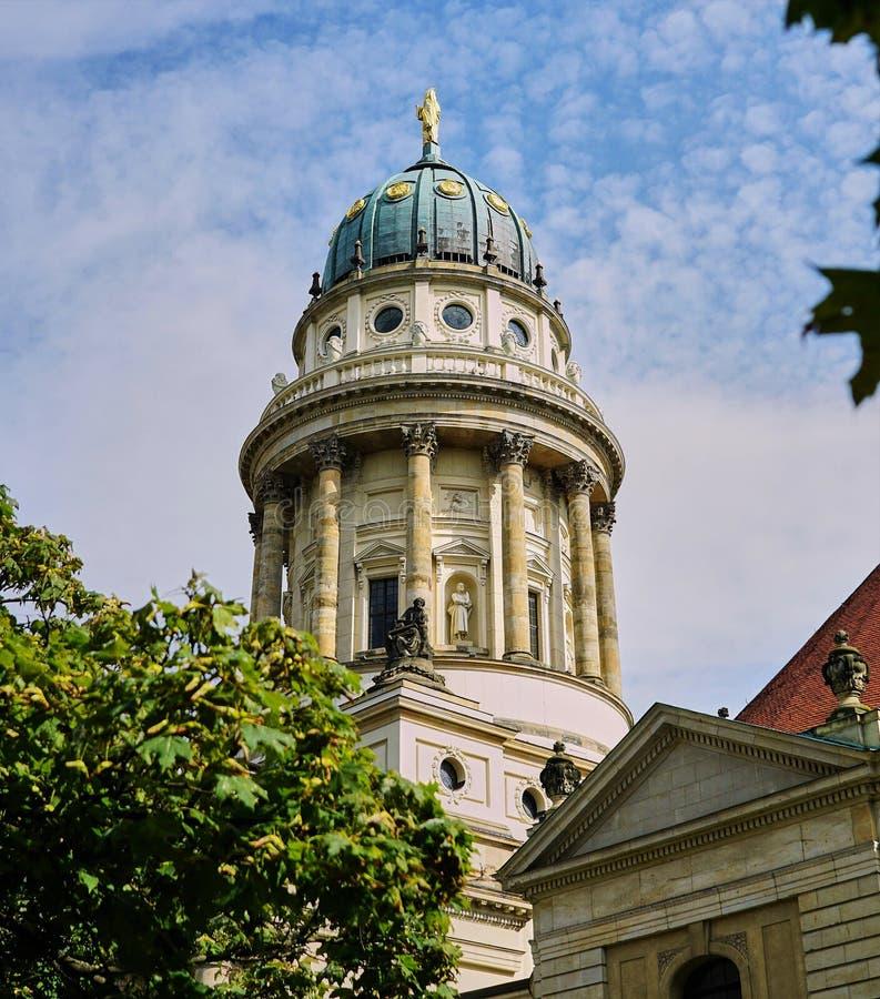 Chiesa francese della cattedrale in Berlin Germany fotografia stock libera da diritti