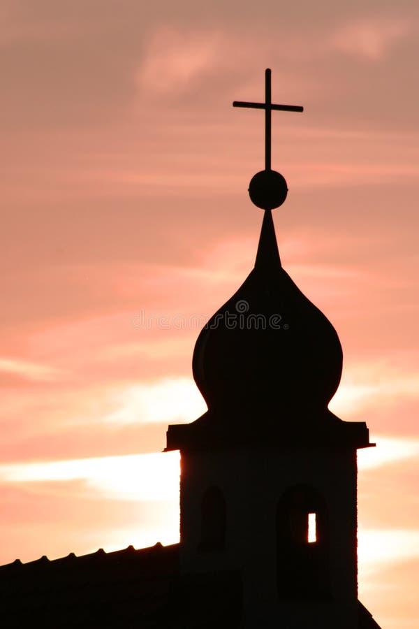 Chiesa in Germania immagine stock libera da diritti