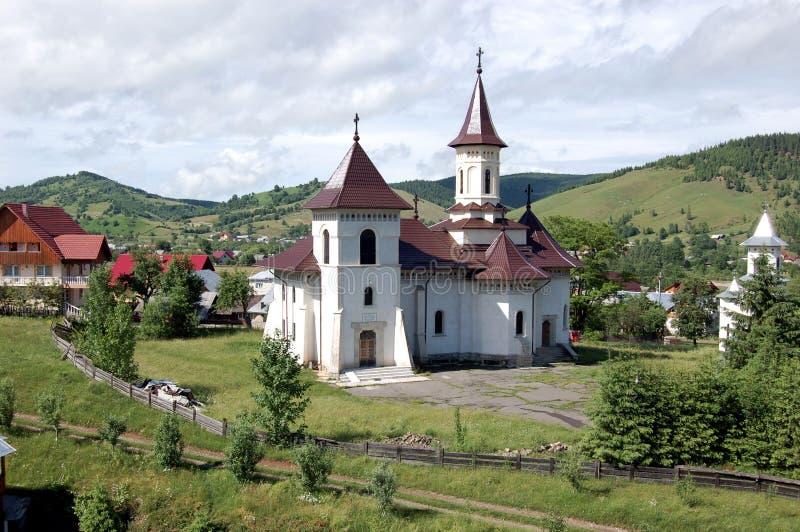 Chiesa, Gura Humorului, Romania immagini stock