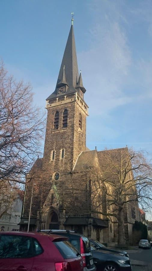 Chiesa a hannover fotografia stock libera da diritti