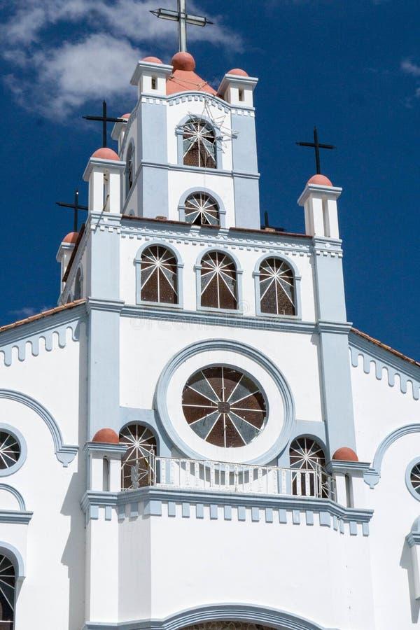 Chiesa in Huaraz immagini stock libere da diritti