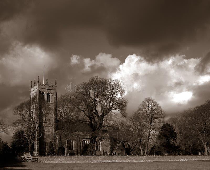 Chiesa inglese. immagine stock libera da diritti