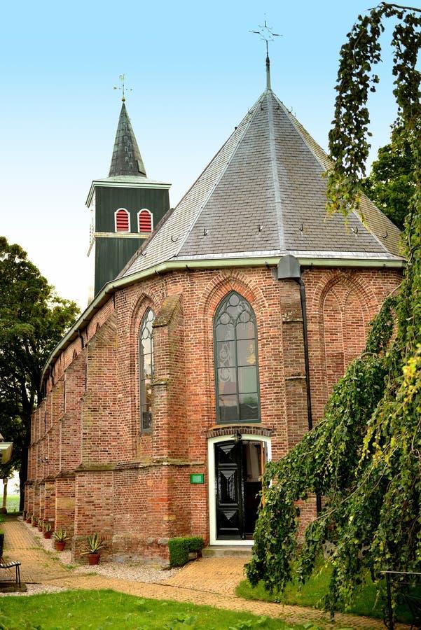 Chiesa in Lambertschaag immagine stock libera da diritti