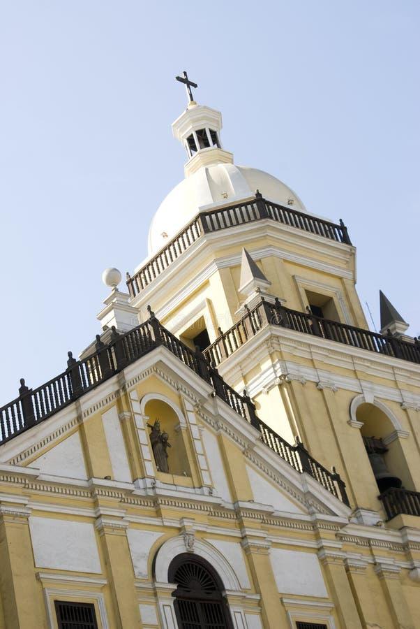 Chiesa Lima del San Pedro fotografia stock libera da diritti