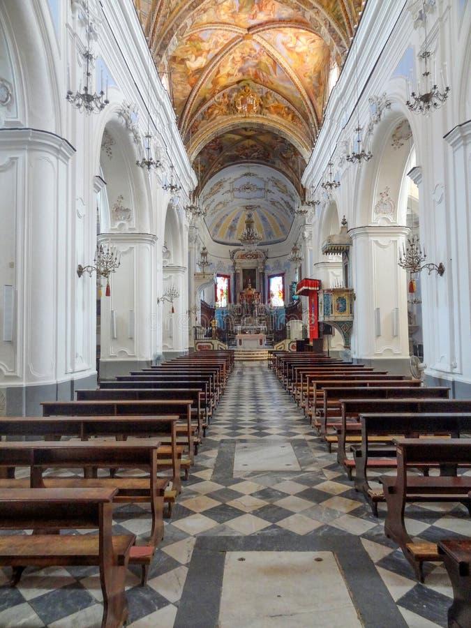 Chiesa in Lipari immagini stock