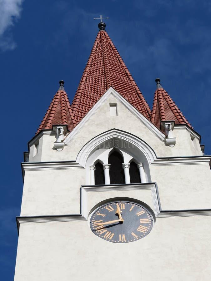 Chiesa, Lituania. immagine stock