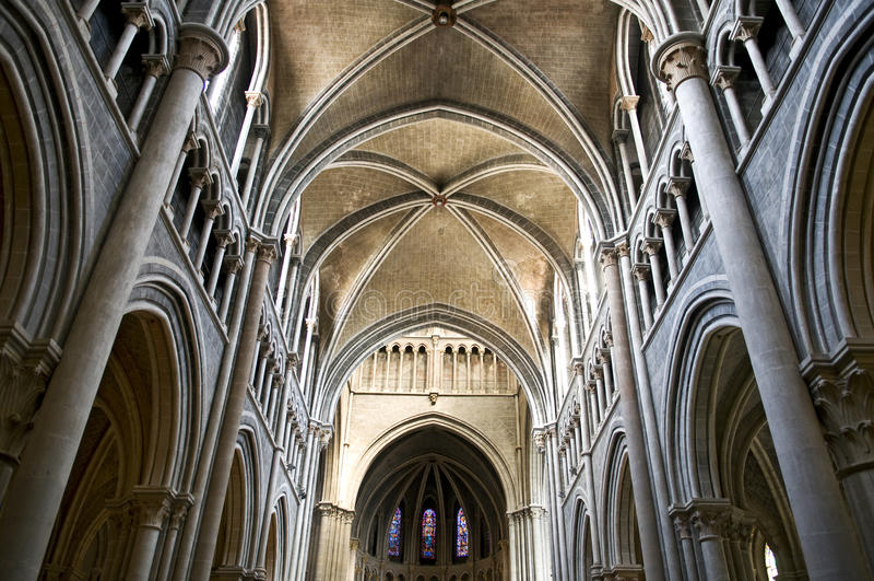 Chiesa a Losanna fotografie stock