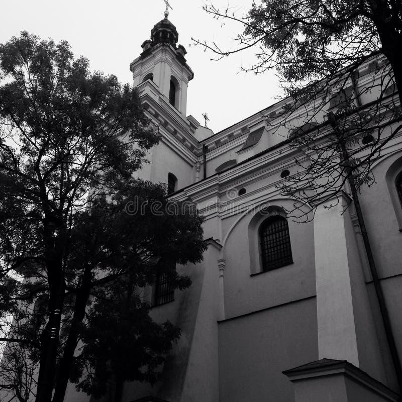 Chiesa a Lublino fotografie stock