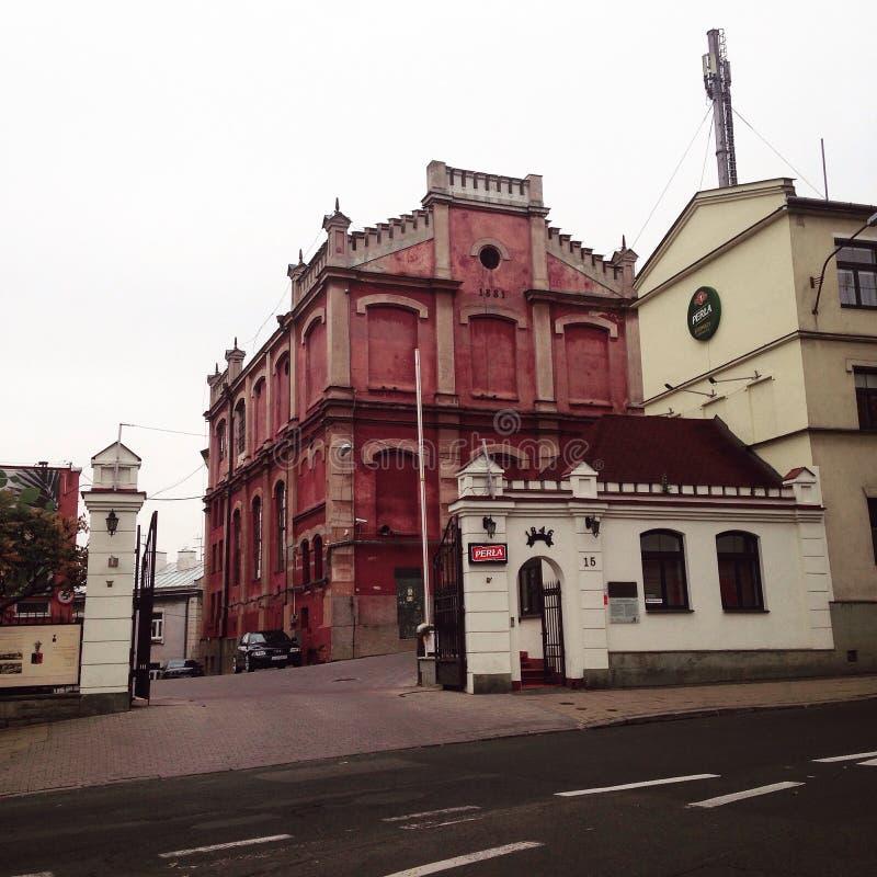 Chiesa a Lublino fotografia stock