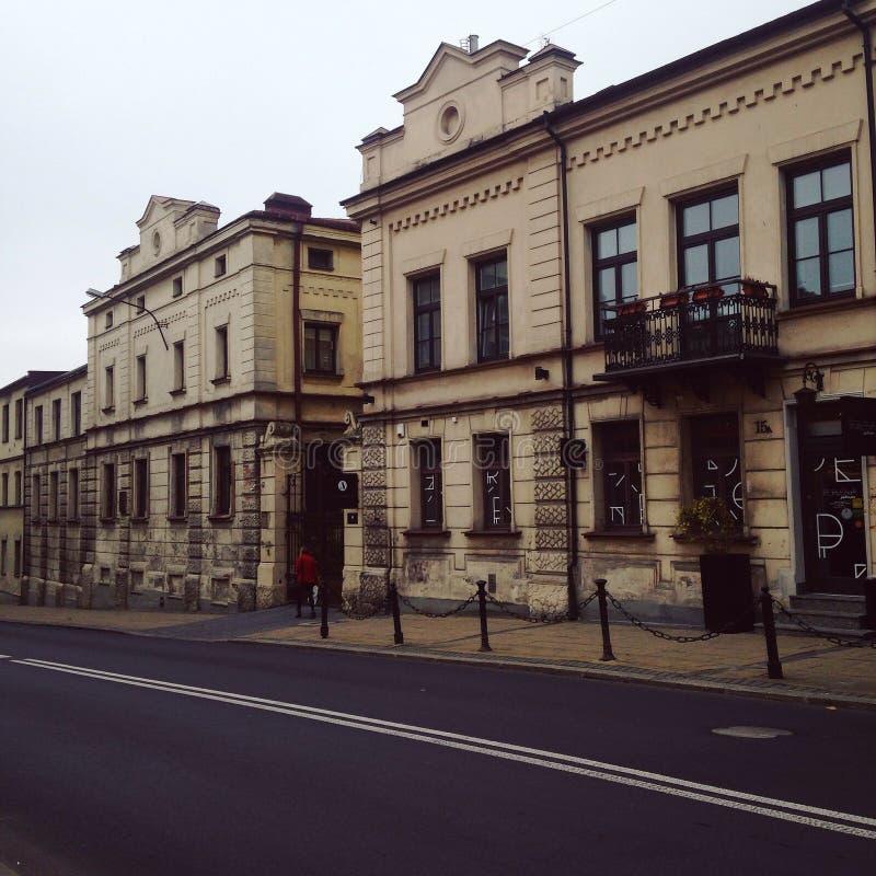 Chiesa a Lublino fotografie stock libere da diritti