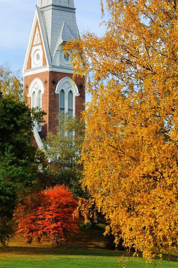 Chiesa luterana evangelica di Joensuu, Finlandia fotografia stock libera da diritti