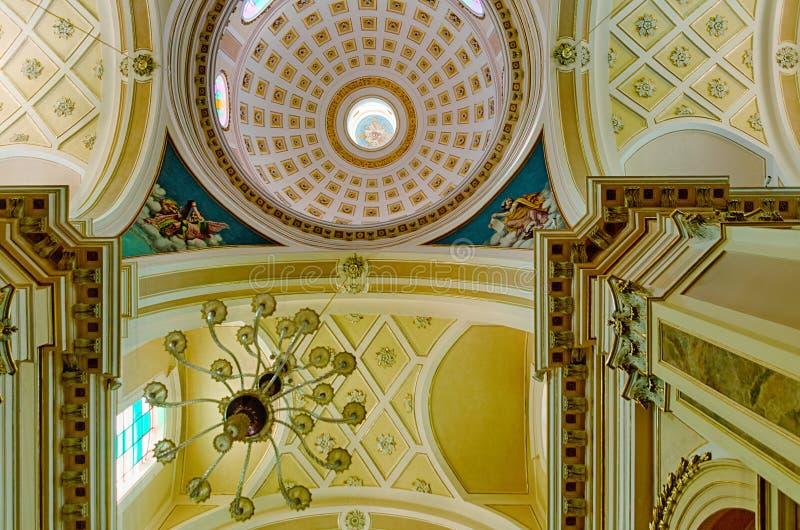 Chiesa Madre Di San Giorgio Martire in Locorotondo stock afbeelding
