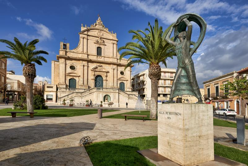 Ispica Sicily Italy royalty free stock photo