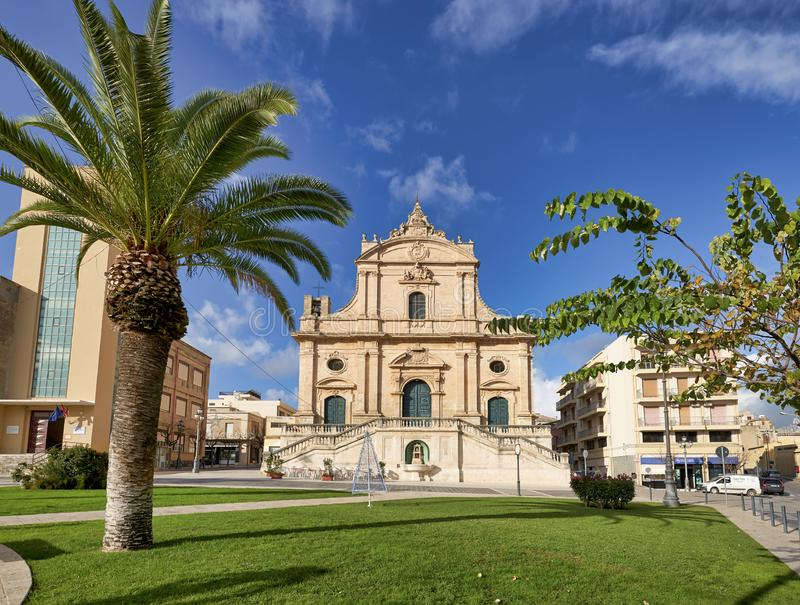 Ispica Sicily Italy stock image