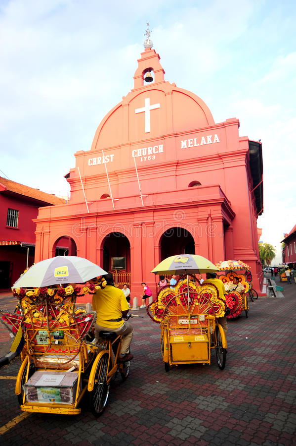 Download Chiesa Malacca di Cristo fotografia editoriale. Immagine di malacca - 30830617