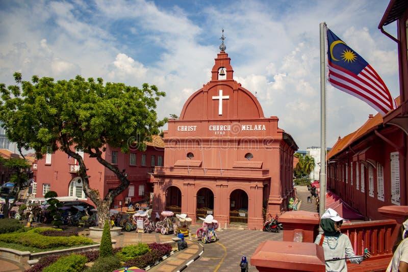 Chiesa in malaka fotografia stock libera da diritti