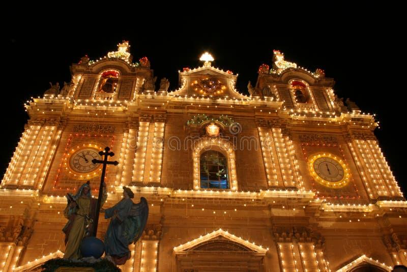 Chiesa maltese immagine stock libera da diritti