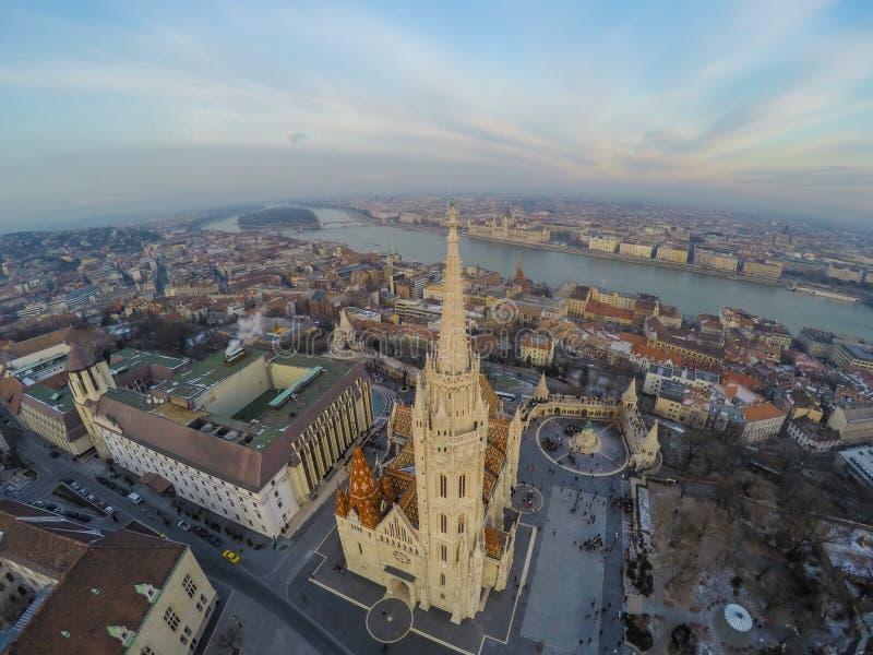 chiesa Matthias di Budapest immagini stock
