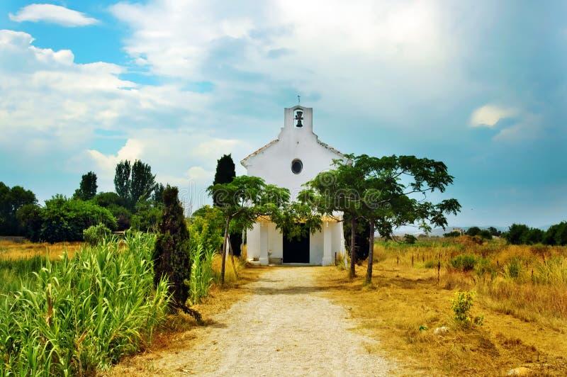 Chiesa mediterranea fotografia stock