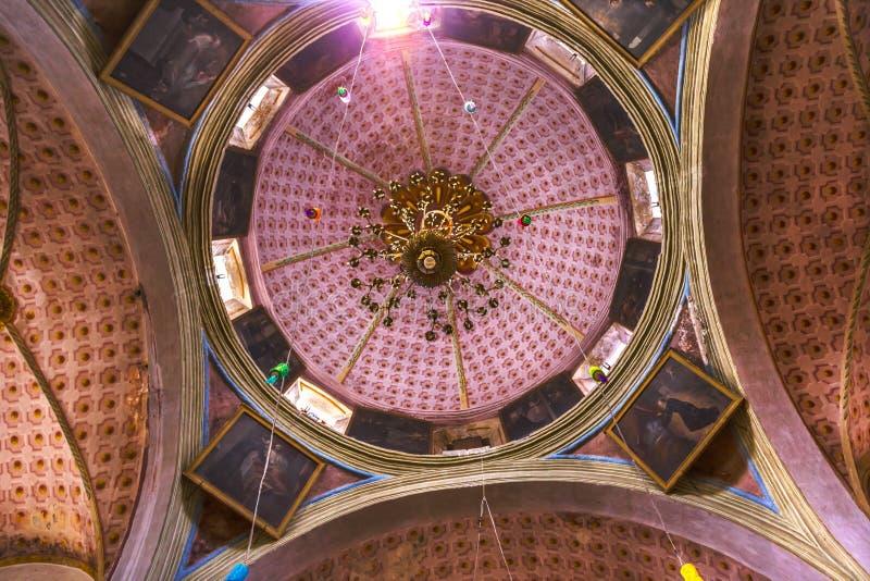 Chiesa Messico di Templo Del Oratorio De San Felipe Neri immagine stock libera da diritti