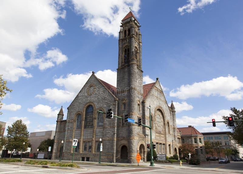 Chiesa metodista della Norfolk immagini stock libere da diritti