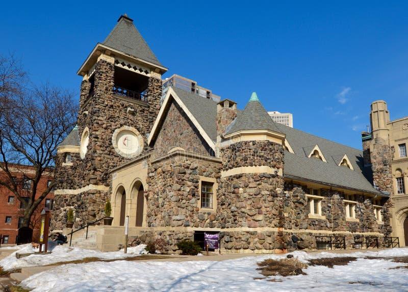 Chiesa metodista di Epworth immagini stock libere da diritti