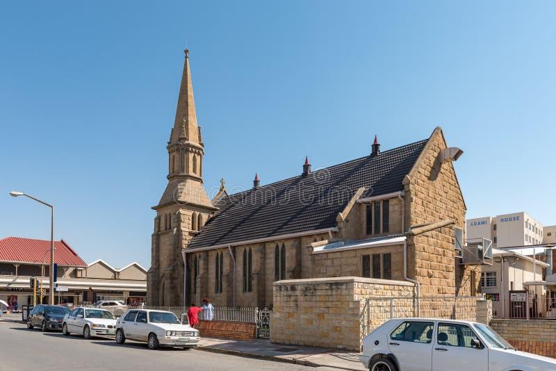 Chiesa metodista di St Johns in Kroonstad immagini stock libere da diritti