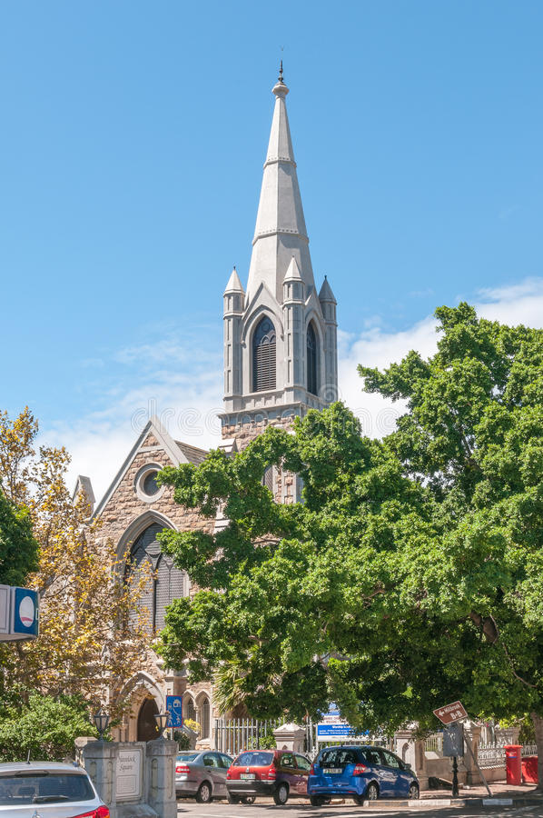 Chiesa metodista di St Johns a Port Elizabeth immagini stock