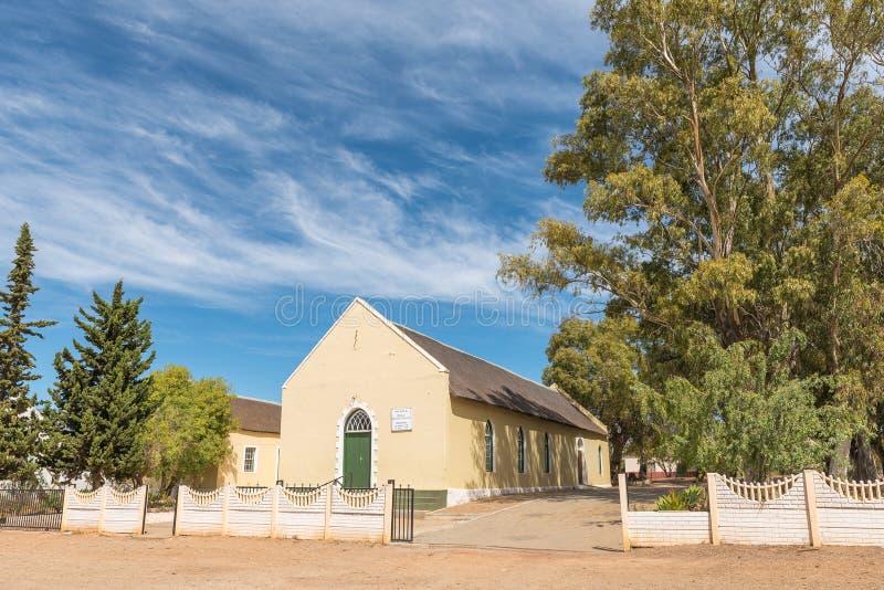 Chiesa metodista in McGregor fotografia stock