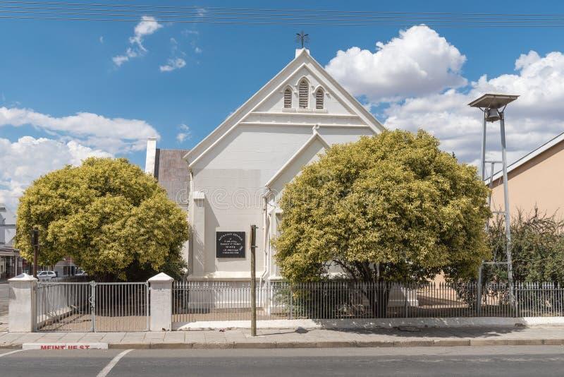 Chiesa metodista in Middelburg fotografie stock libere da diritti