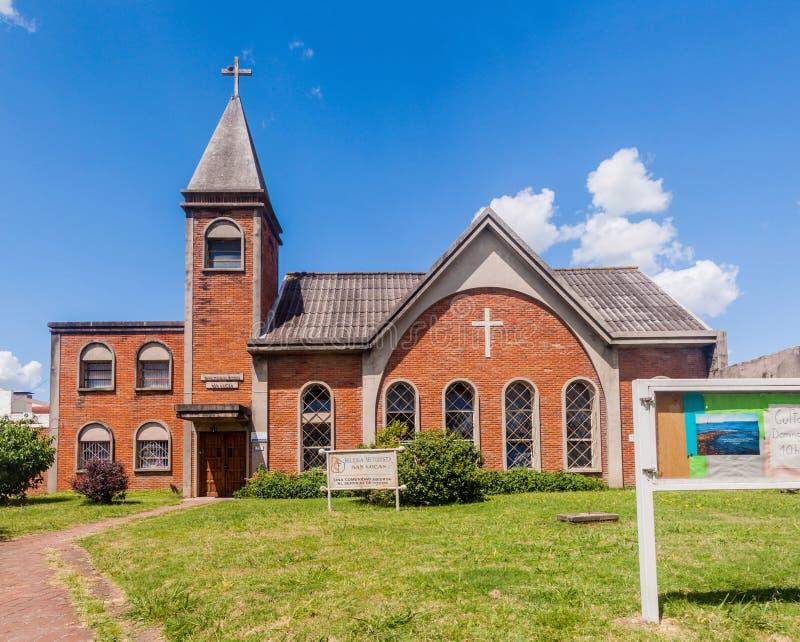Chiesa metodista in Paysandu immagine stock libera da diritti