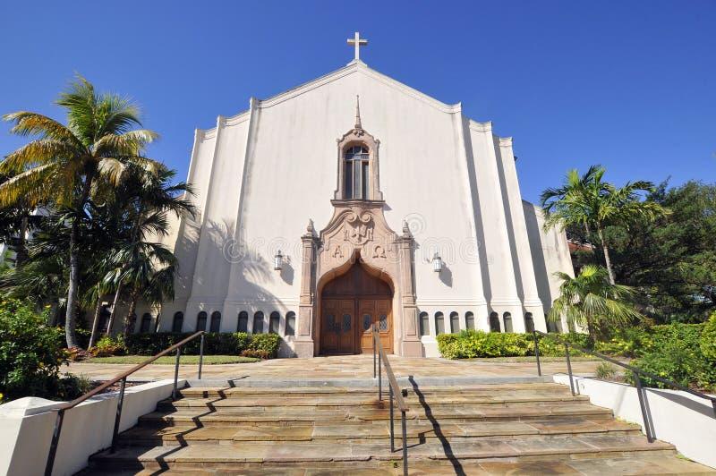 Chiesa metodista unita del pugno fotografie stock