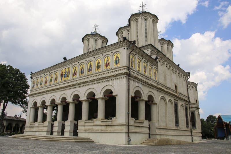 Chiesa metropolitana della cattedrale patriarcale ortodossa rumena, B fotografia stock libera da diritti