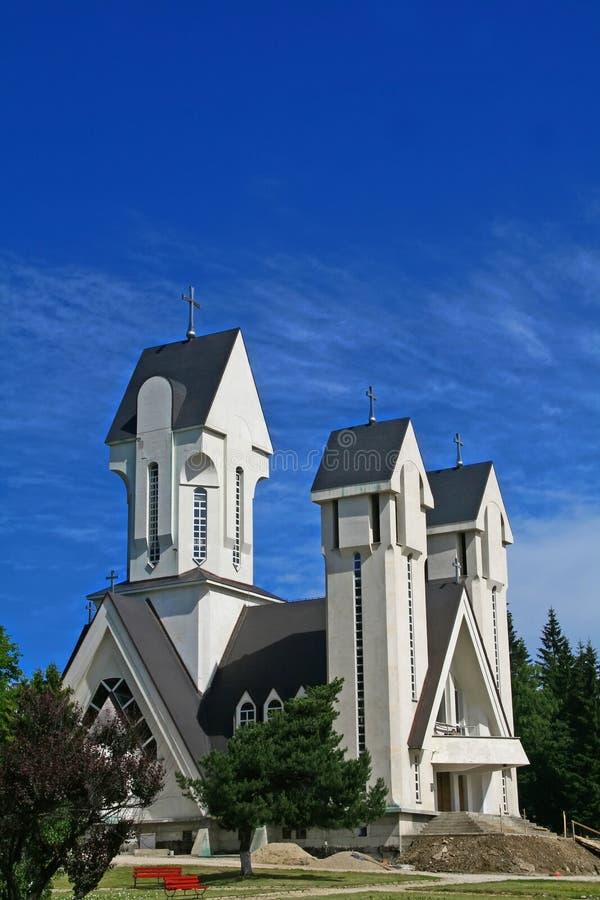 Chiesa moderna immagine stock