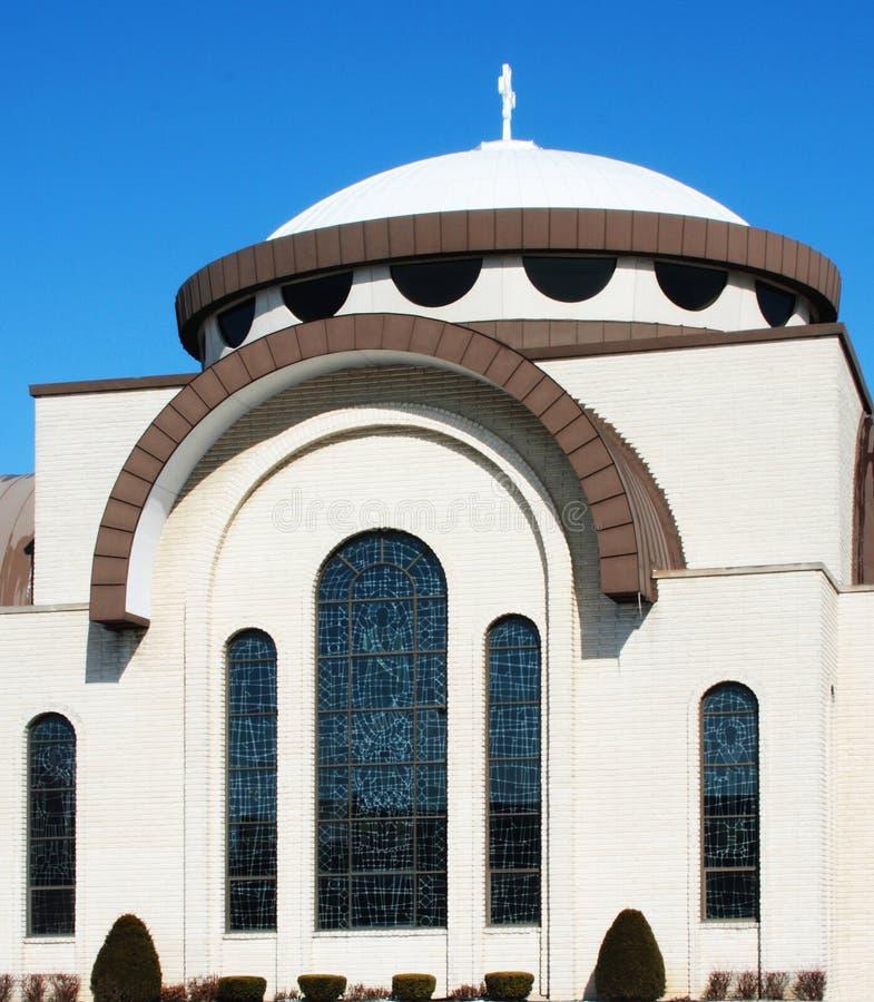 Chiesa moderna fotografie stock libere da diritti