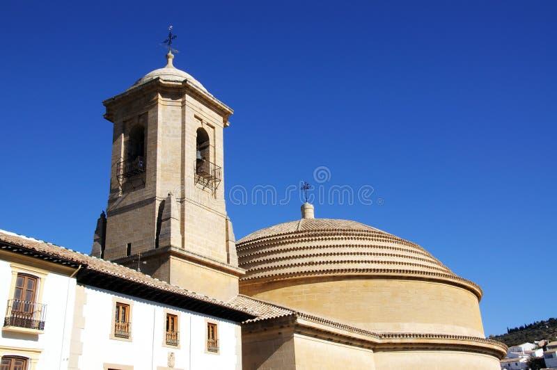 Chiesa, Montefrio, Andalusia, Spagna. fotografie stock