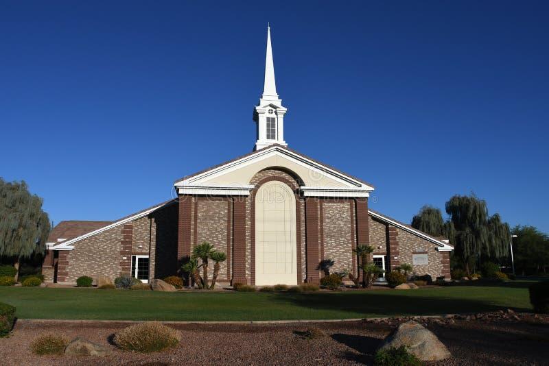 Chiesa mormonica immagine stock libera da diritti