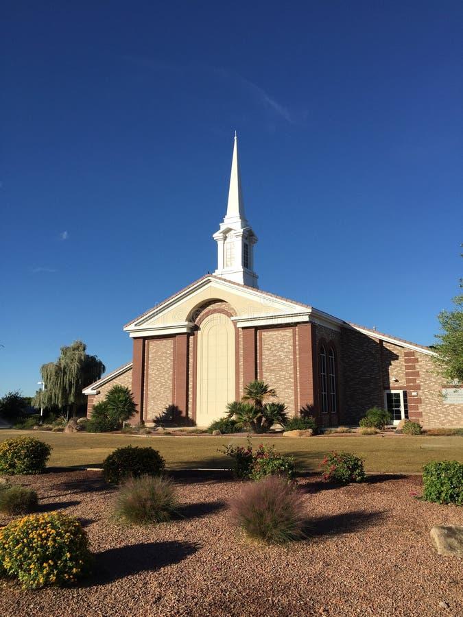 Chiesa mormonica fotografia stock libera da diritti