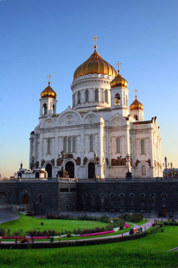 Chiesa a Mosca, Russia fotografia stock