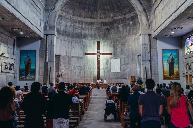 Chiesa a Mostar immagine stock libera da diritti