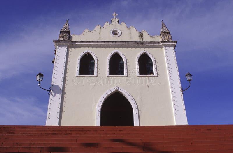 Chiesa nel Brasile fotografia stock