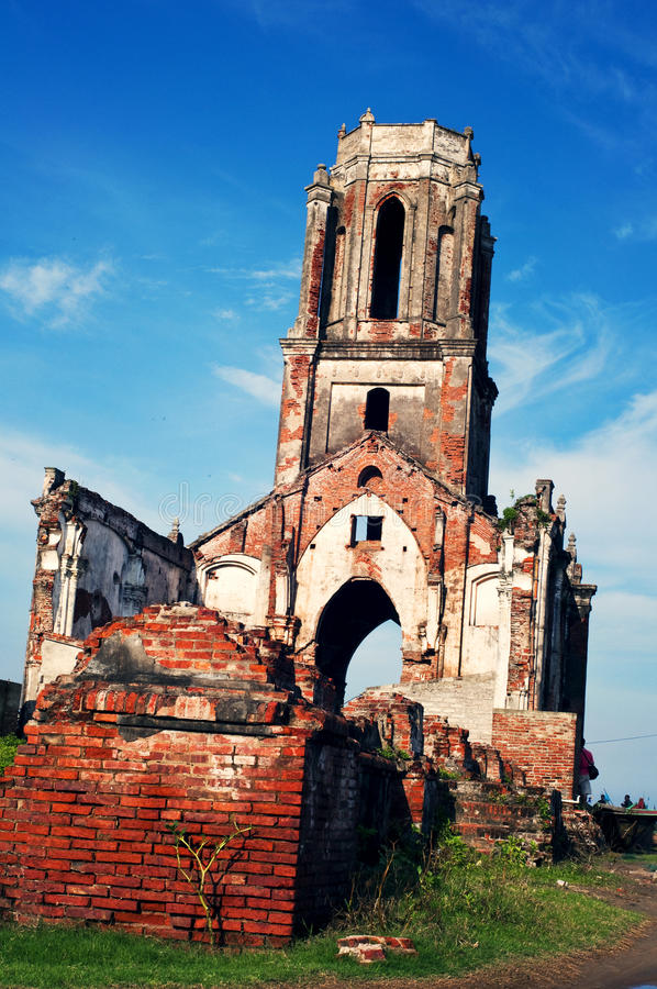 Chiesa nel Vietnam fotografia stock libera da diritti