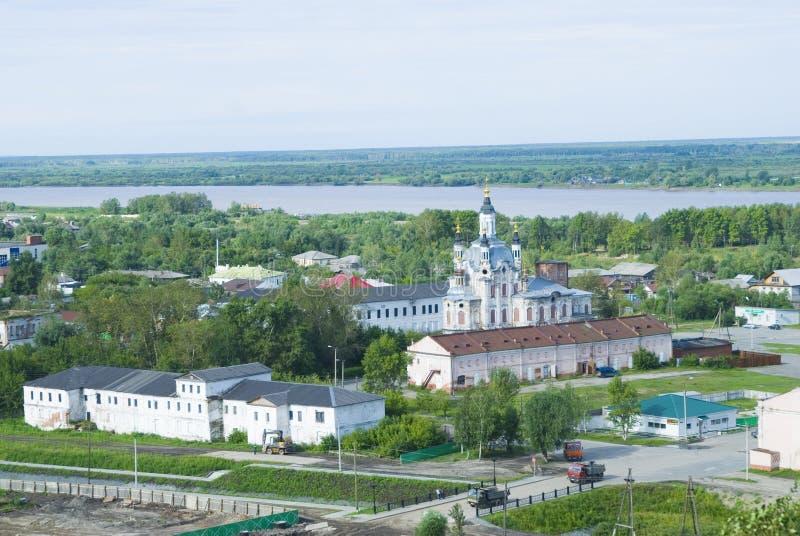 Download Chiesa Nella Città Di Tobolsk Fotografia Stock - Immagine di outhouse, paesaggio: 7301608