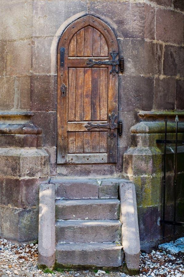 Chiesa nera della porta posteriore, Brasov - Romania fotografia stock libera da diritti