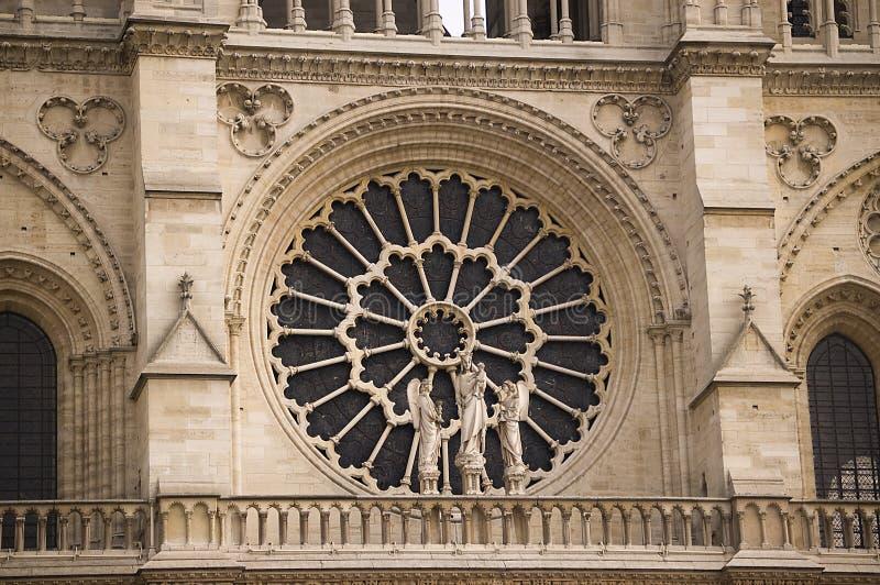 Chiesa Notre Dame della Francia Parigi fotografia stock