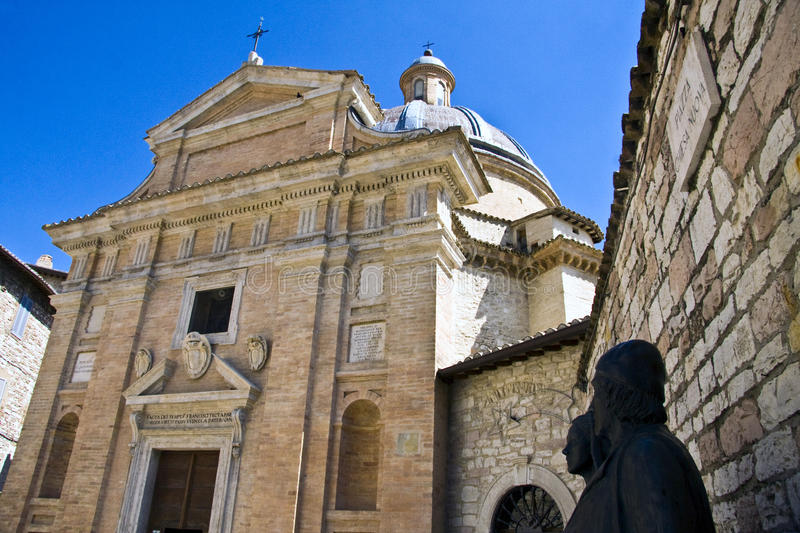 Download Chiesa Nuova Assisi stock photo. Image of parents, italy - 9868942