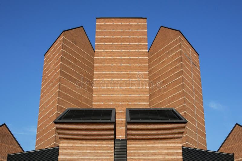 Chiesa o fronte santo, Torino, Piemonte, Italia immagine stock libera da diritti